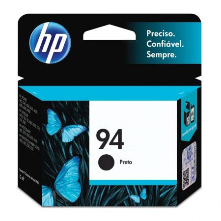 Cartucho HP Original (94) C8765WB preto até 450 páginas