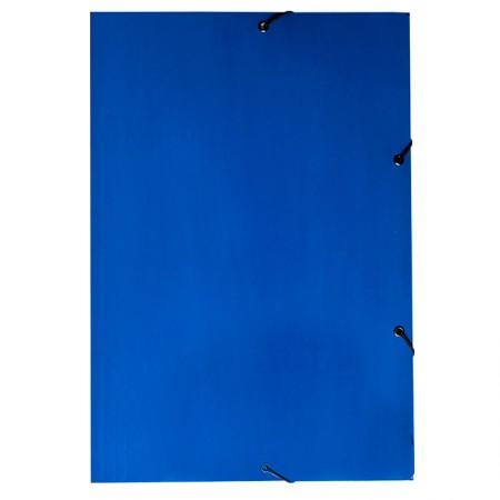 Pasta com aba elástico ofício - Duplex - azul - 0199.C - Dello