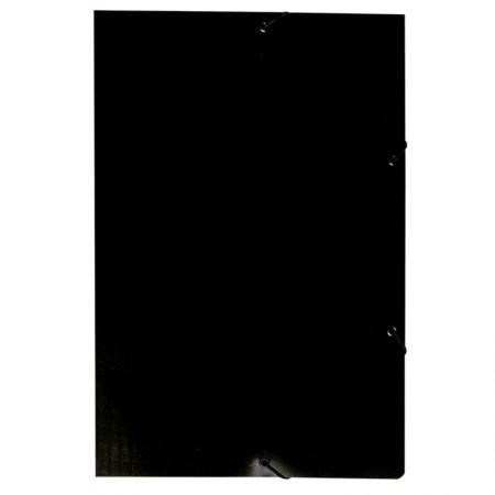 Pasta com aba e elástico - preta - 199.P - Dello