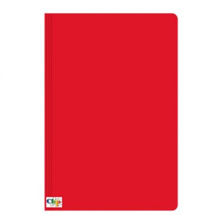 Pasta duplex com grampo ofício - vermelha - ClipColor