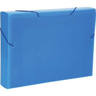Pasta aba elástica lombo 20mm - Novaonda - Azul - Polibras