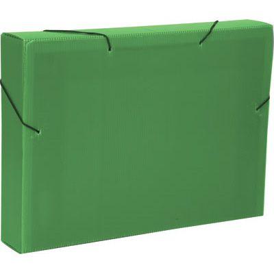 Pasta 55mm novaonda com aba e elástico verde - Polibras