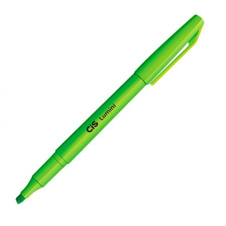 Pincel marca texto Lumini - Verde - Cis