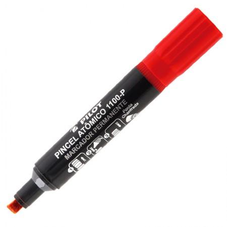 Pincel atômico vermelho 1100-P - Pilot