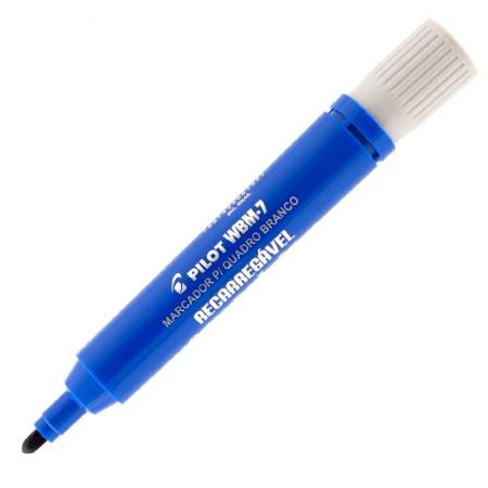 Pincel para quadro branco recarregável WBM-7 azul - Pilot
