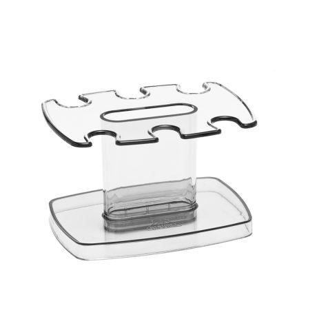 Porta carimbo modular cristal - 806.3 - 6 lugares - Acrimet