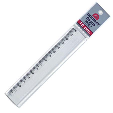 Régua poliestireno 15 cm - 511 - Acrimet