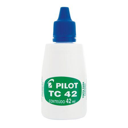 Tinta para carimbo 42ml - Azul - Pilot