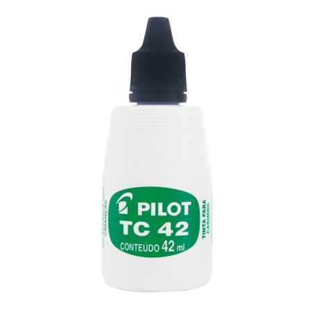 Tinta para carimbo 42ml - Preto - Pilot
