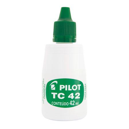 Tinta para carimbo 42ml - Verde - Pilot