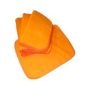 Flanela de algodão laranja 28x58
