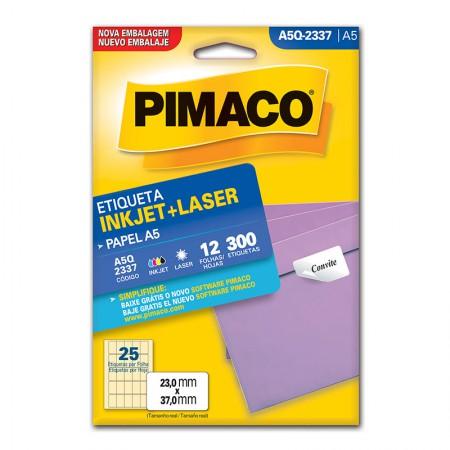 Etiqueta inkjet/laser A5Q2337 - Pimaco