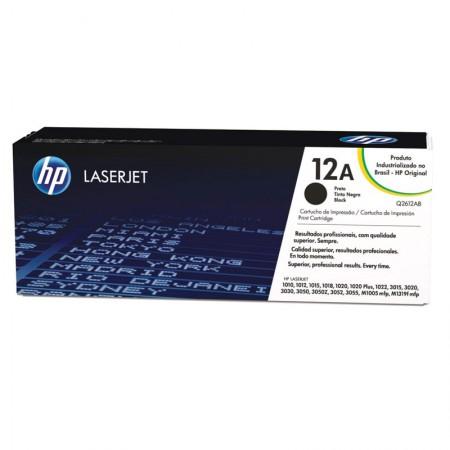 Toner HP Original (12A) Q2612AB - preto 2000 páginas