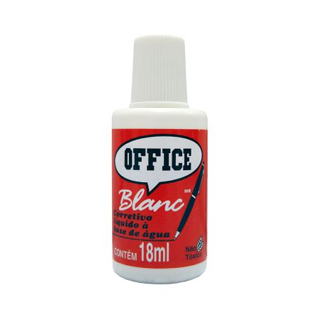 Corretivo líquido Office Blanc 18ml - Radex