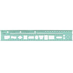 Gabarito eletrônico P/ formulários contínuos E-22 - Trident