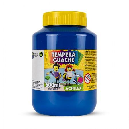 Tinta guache Azul Turquesa 500ml - 501 - Acrilex
