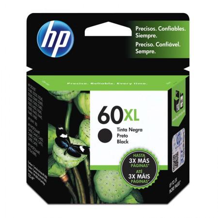 Cartucho HP Original (60XL) CC641WB preto até 600 páginas