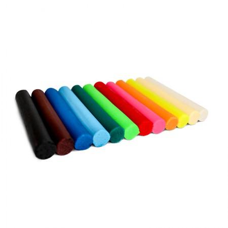 Massa de modelar UtiGuti 180g - com 12 cores - Licyn