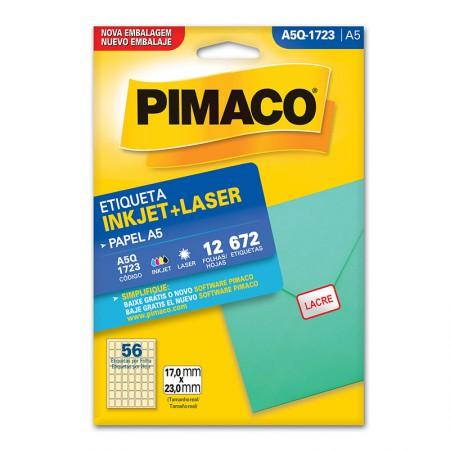 Etiqueta inkjet/laser A5Q1723 - Pimaco