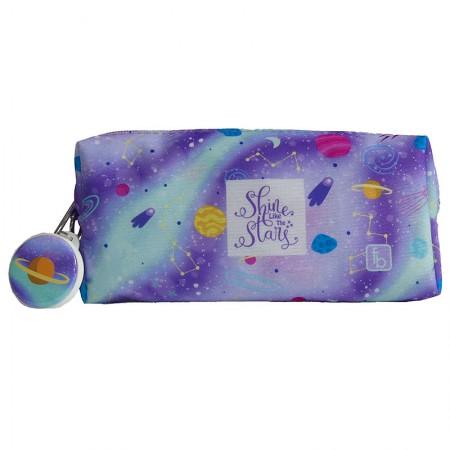 Estojo escolar com ziper - 122-0144/20 - Casual II Magic Planets - Franesb