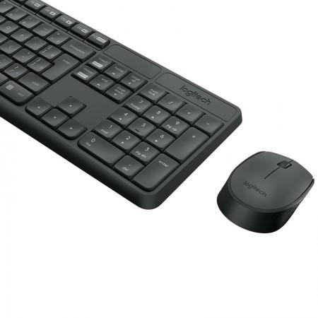 Teclado e mouse USB sem fio MK235 - Logitech