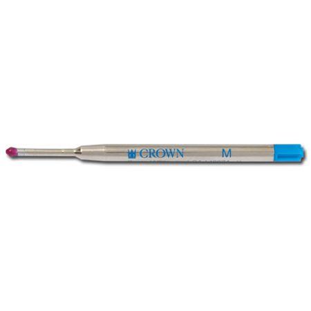Carga para caneta esferográfica CA14007P preta - Crown