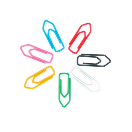 Clips colorido NR 5 - com 100 unidades - ACC