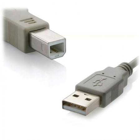 Cabo USB 2.0 A machoX B macho 5M - Multilaser