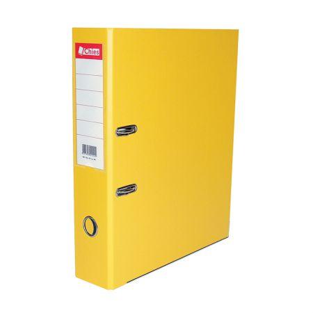 Registradora AZ A4 LL 1129 - amarelo - Chies