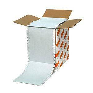 Formulário contínuo 80 colunas 2 vias branco com 1500 - 38 - Agaprint