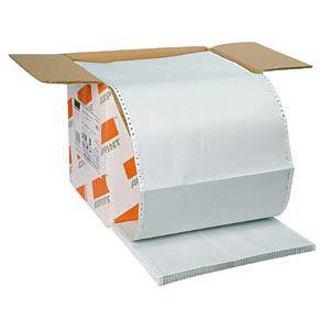 Formulário contínuo 80 colunas 3 vias branco com 1000 - 39 - Agaprint