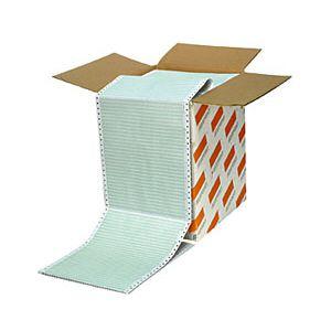 Formulário contínuo 132 colunas 1 via zebrado com 3000 - 25 - Agaprint