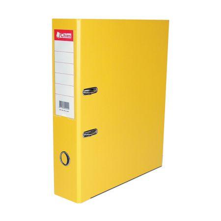 Registradora AZ ofício LL 1020 - amarelo - Chies