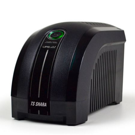 No-break 110v 500VA preto - UPS Mini 331 - 6 tomadas - Ts Shara
