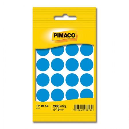Etiqueta adesiva TP19 - azul - Pimaco