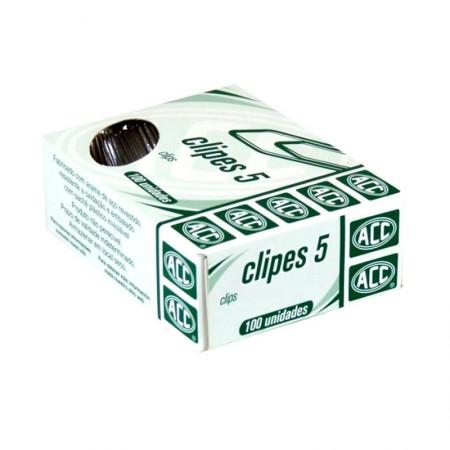 Clips galvanizado NR 5 - com 100 unidades - ACC