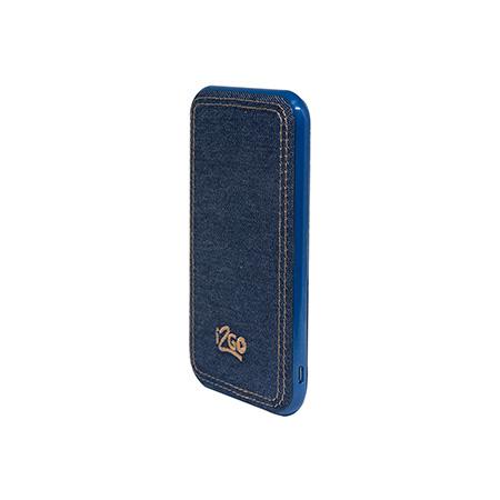 Bateria portátil - USB 5000 mAh - I2GBAT520 - Jeans -  I2GO