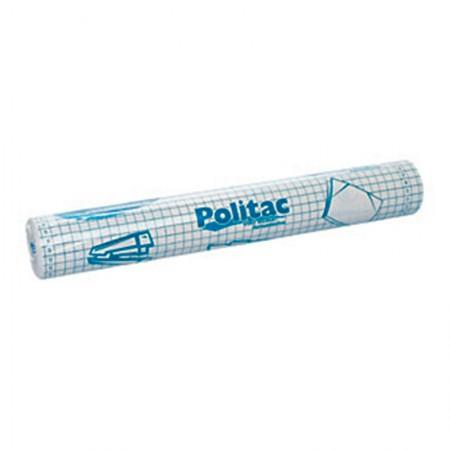 Adesivo Politac transparente - rolo com 25 metros - Polifix
