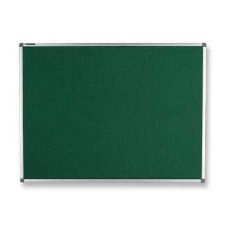 Quadro feltro verde moldura de alumínio 50x70cm Board Net