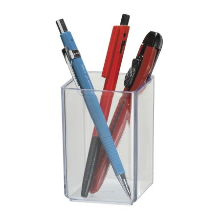 Porta lápis simples cristal 933.3 - Acrimet