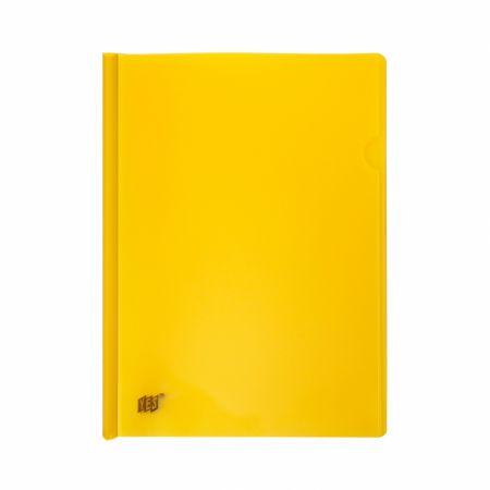 Pasta com canaleta transparente A4 - amarela - C310 - Yes