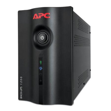 No-break bivolt 1200VA preto - Back-UPS BZ1200BR - 8 tomadas - APC