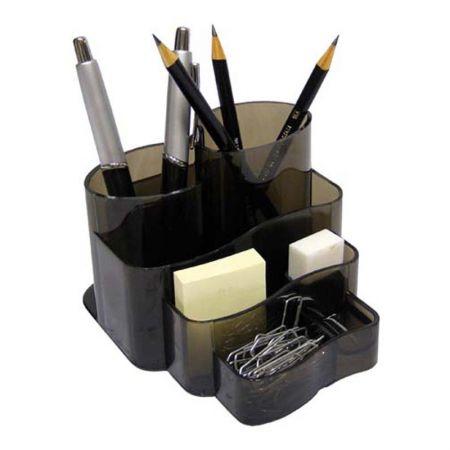 Porta lembrete/lápis/clips - fumê - 3005.I - Dello