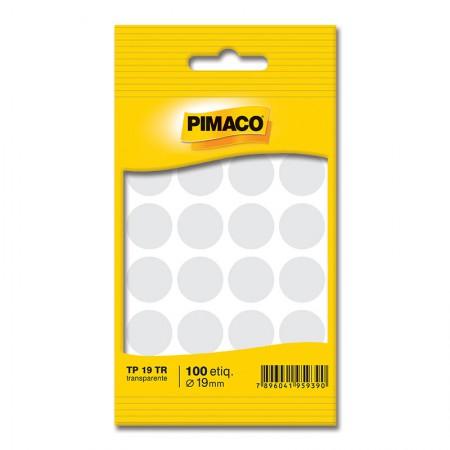 Etiqueta adesiva TP19 - transparente - Pimaco