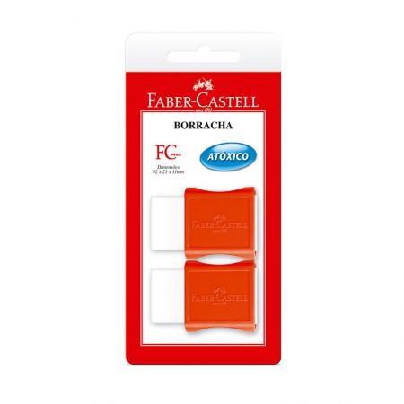 Borracha TK-Plast Max - SM/107024 - com 2 unidades - Faber-Castell