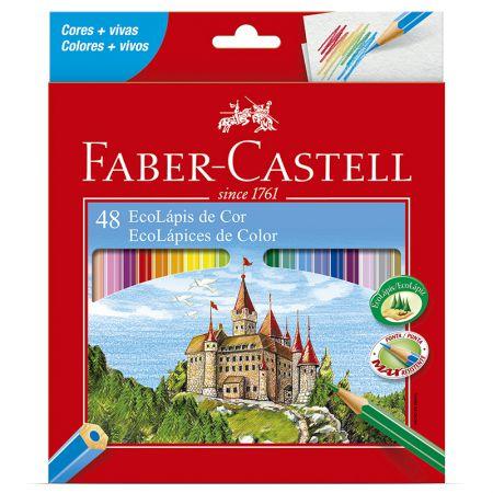 Lápis de cor 48 cores - 120148G - Faber-Castell
