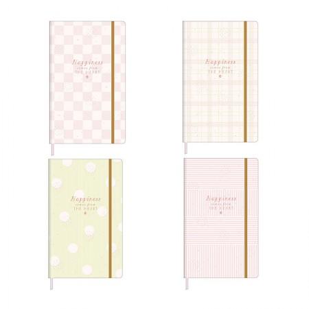 Caderno costurado grande sem pauta - 80 folhas - Soho - Tilibra