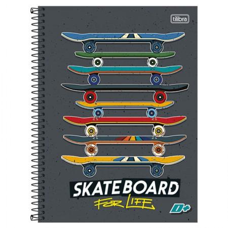 Caderno espiral capa dura universitário 1x1 - 96 folhas - D Mais - Choose Your Weapon - Tilibra