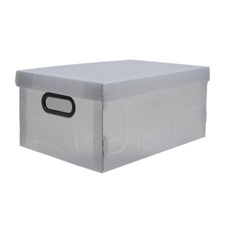 Caixa organizadora média - cristal - 2171.H - Dello