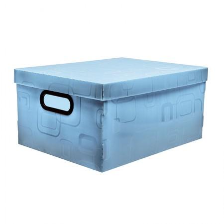 Caixa organizadora média - azul - 2171.C - Dello